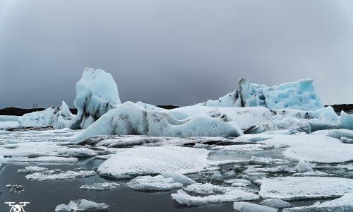 Laguna lodowcowa Jökulsárlón Islandia