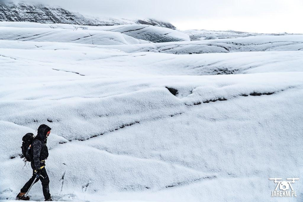 Na lodowcu Vatnajökull