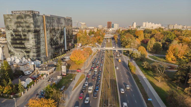 Zdjęcia z drona Łódź