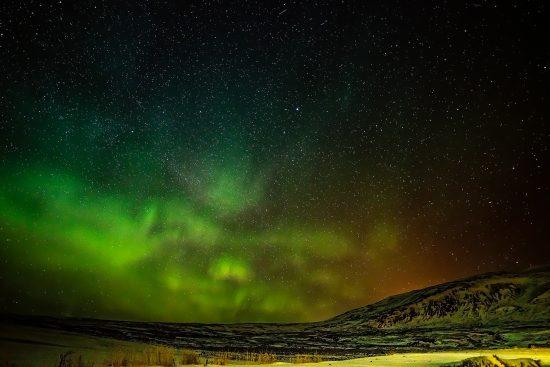 Zorza polarna na Islandii – wystarczający powód by polecieć tam zimą!