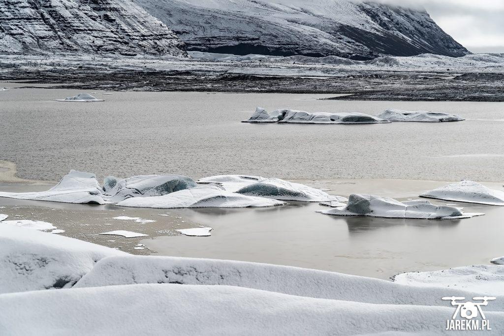 Laguna lodowcowa - Islandia
