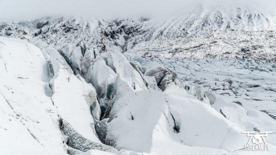 Lodowiec Vatnajökull na Islandii
