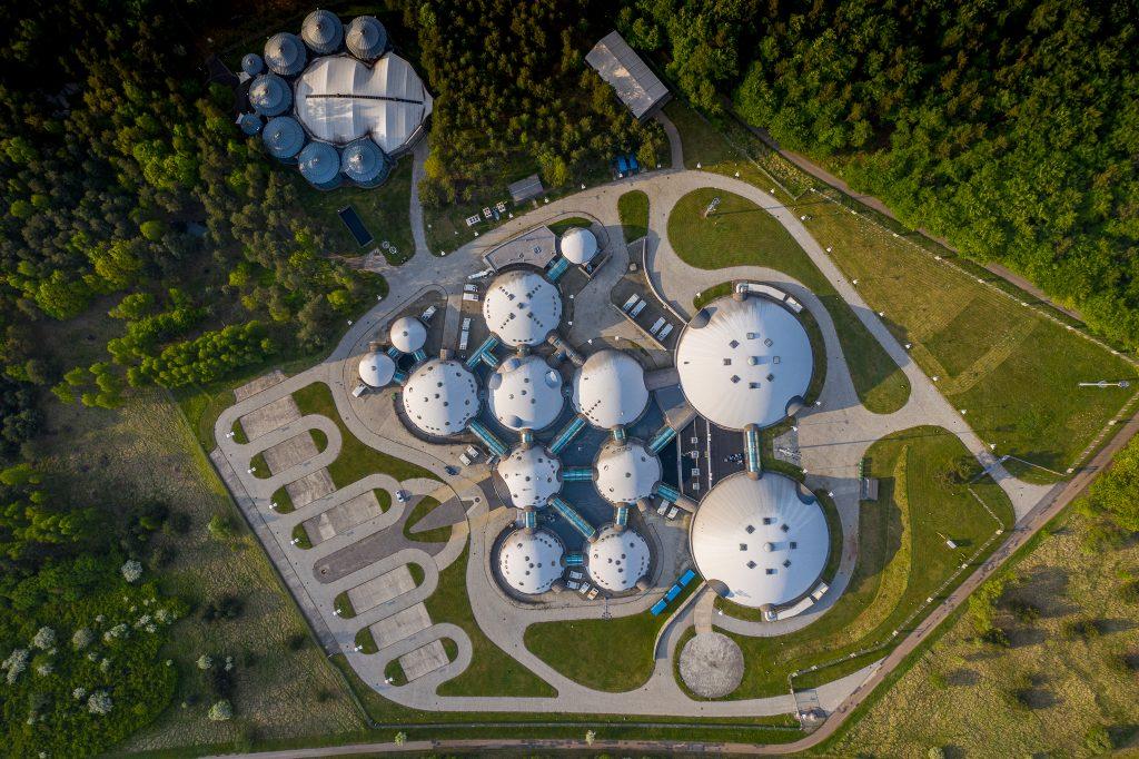 Alwernia Planet - zdjęcie z drona