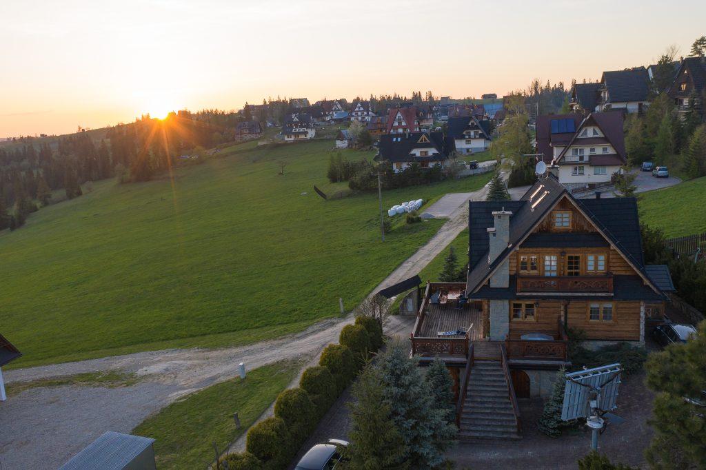 Jeszcze jedno ujęcie naszego weekendowego domku w Bukowinie