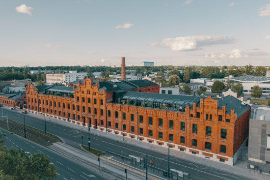 Monopolis Łódź – zdjęcia z drona