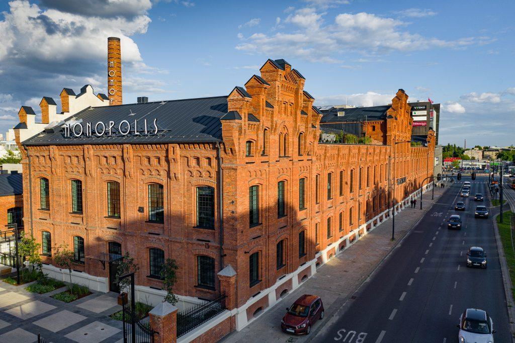 Monopolis - zdjęcie z drona